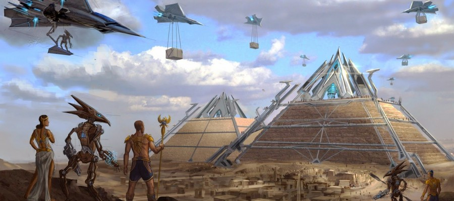 Pyramids Contain Alien Technology – Proof