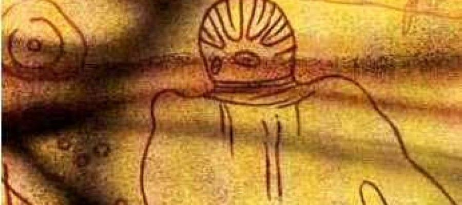 UFO's in ancient art