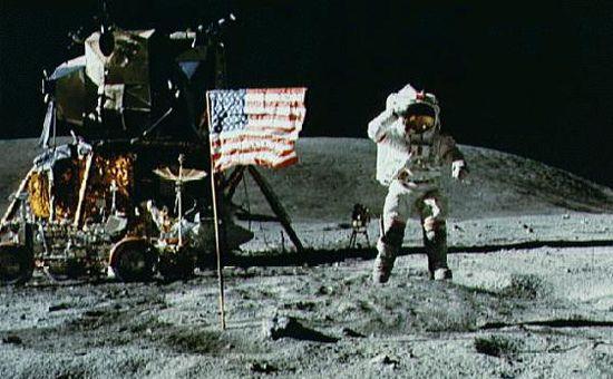 faked moon landing?