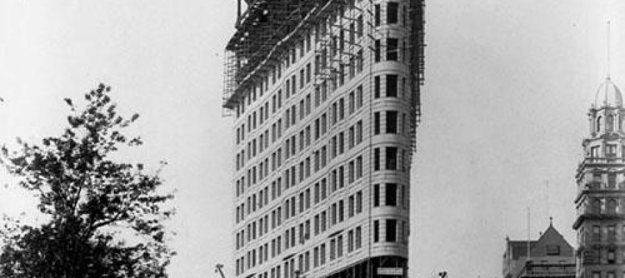 Did Time Travellers build The Flatiron Building?