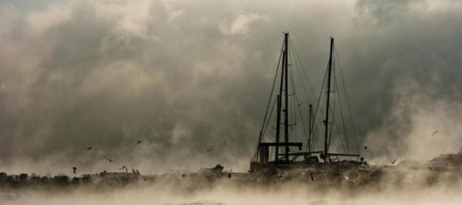 Natural Phenomena – Steaming Black Sea – Romania