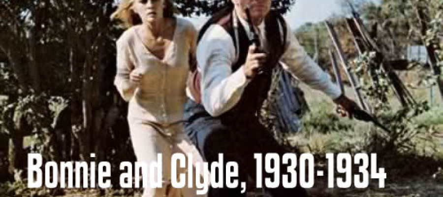 Historical Heists – Bonnie and Clyde, 1930-1934, $ stolen unknown
