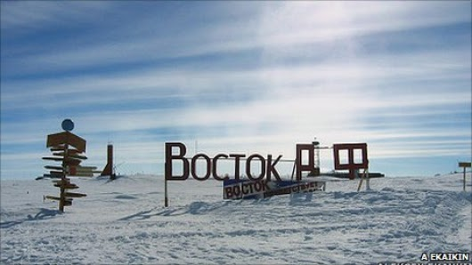 THE LOST WORLD OF LAKE VOSTOK