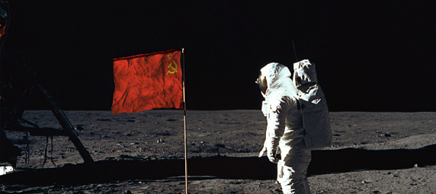 Russians are sending men to the moon!