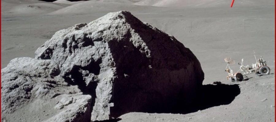 Apollo 17 captured UFO on the moon