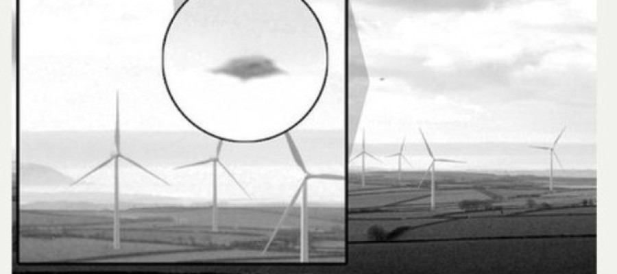 UFO spotted over UK sky could be monitoring military activity at air bases.