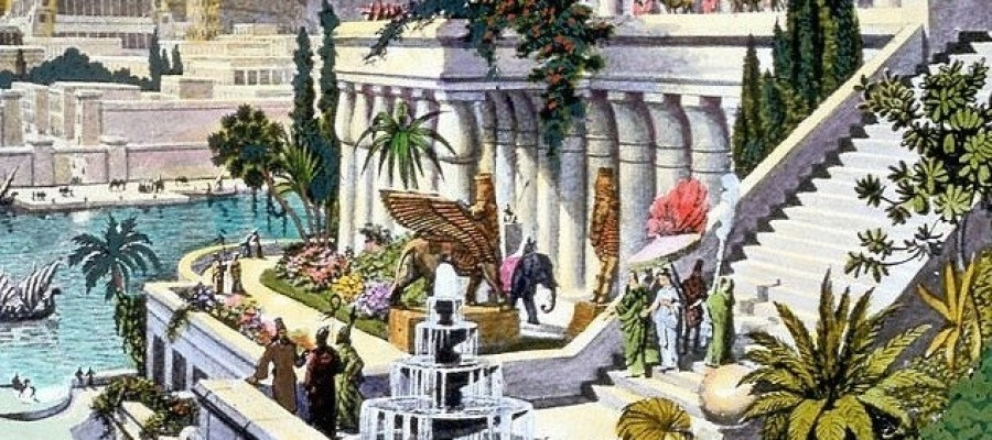Site of the Hanging Gardens of Babylon Discovered