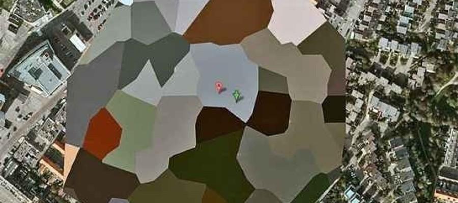 Secret locations hidden on google maps
