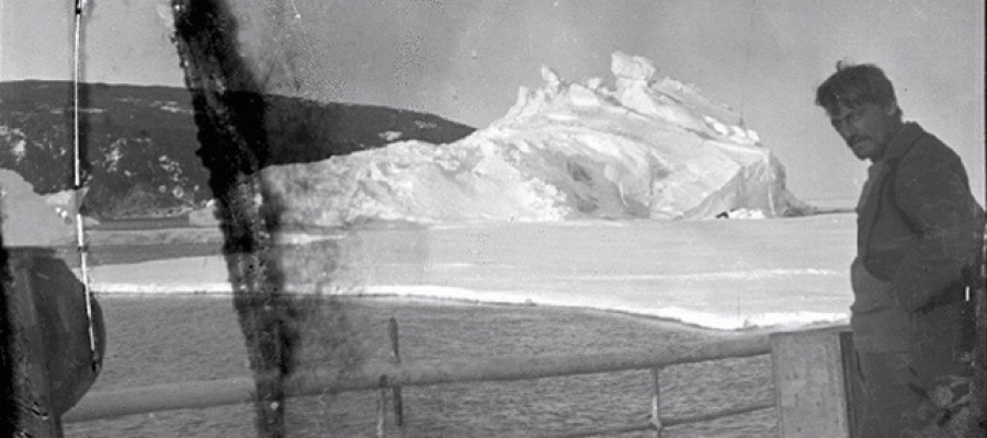 Photos frozen in a block of ice for nearly one hundred years discovered