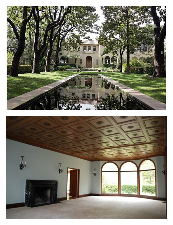 A Once Majestic Estate and Former Home to University Presidents is Deemed Unlivable and Abandoned