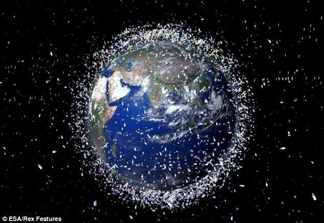 junk space earth orbit - photo #25