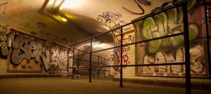 Abandoned Haunting Train Stations