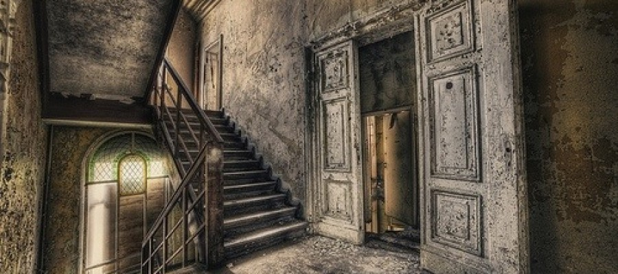 The Haunted Manor in Gdansk, Poland