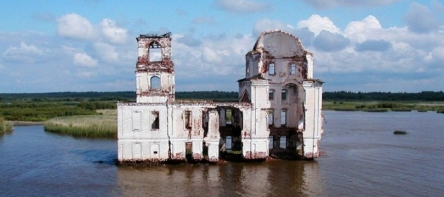 The ghosts of the sunken Russian town of Mologa