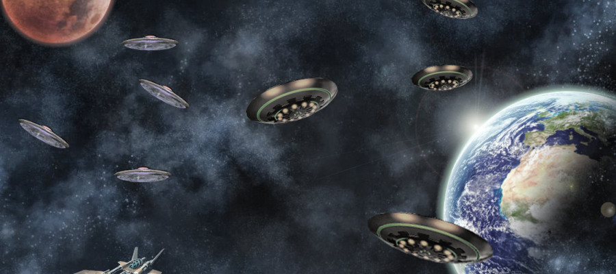 Mystery of the 1947 UFO invasion