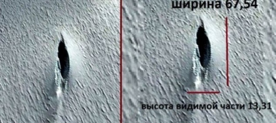 UFO That crashed 3 years ago found in Antarctic – claims Russian!