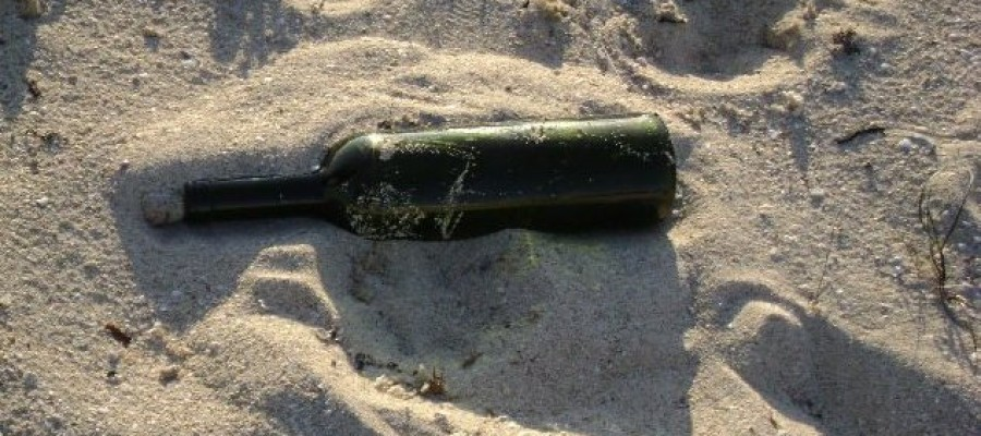 Oldest known message in a bottle washes up