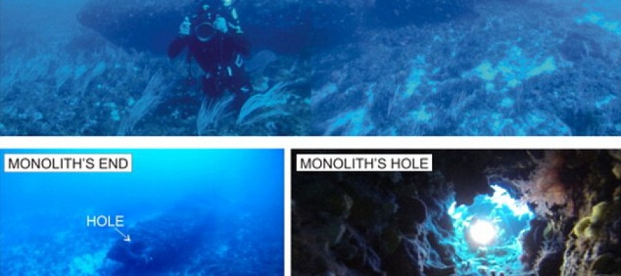 Underwater 'Stonehenge' found off Sicily coast