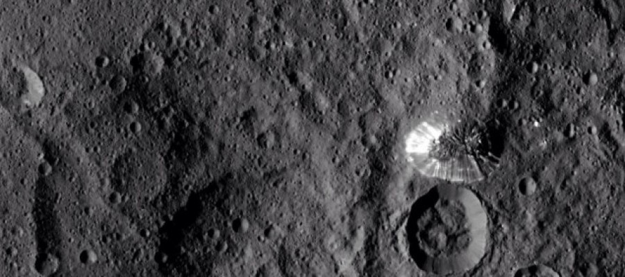 Dawn spacecraft captures image of unexplained pyramid on Ceres