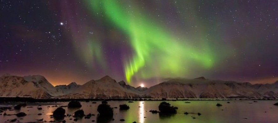 Aurora discovered outside our solar system