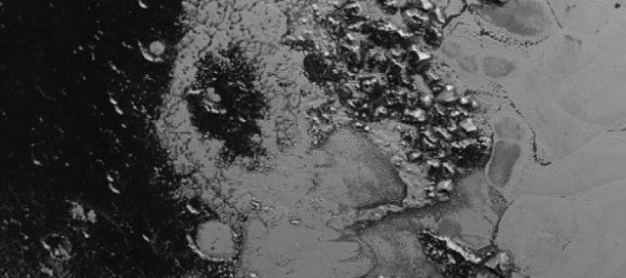 New mountain range revealed on Pluto