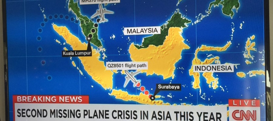 AirAsia flight QZ8501 goes missing: Bermuda Triangle in South Asia