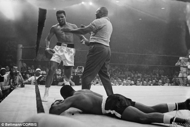 Suspicion: New documents have come to light which reveal that the FBI long suspected that the shock result in Clay v Liston was really a fix