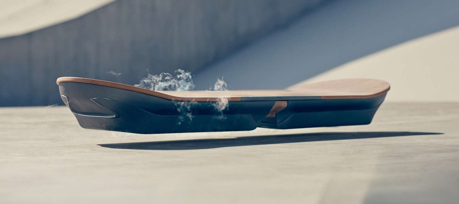 Lexus unveils works on its own hovering skateboard.