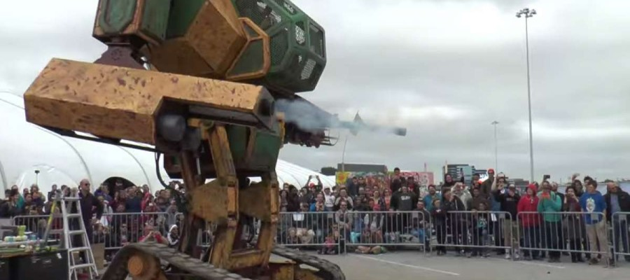 US challenges Japan to a giant robots duel