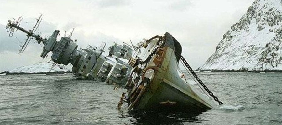 A stunning collection images of shipwrecks