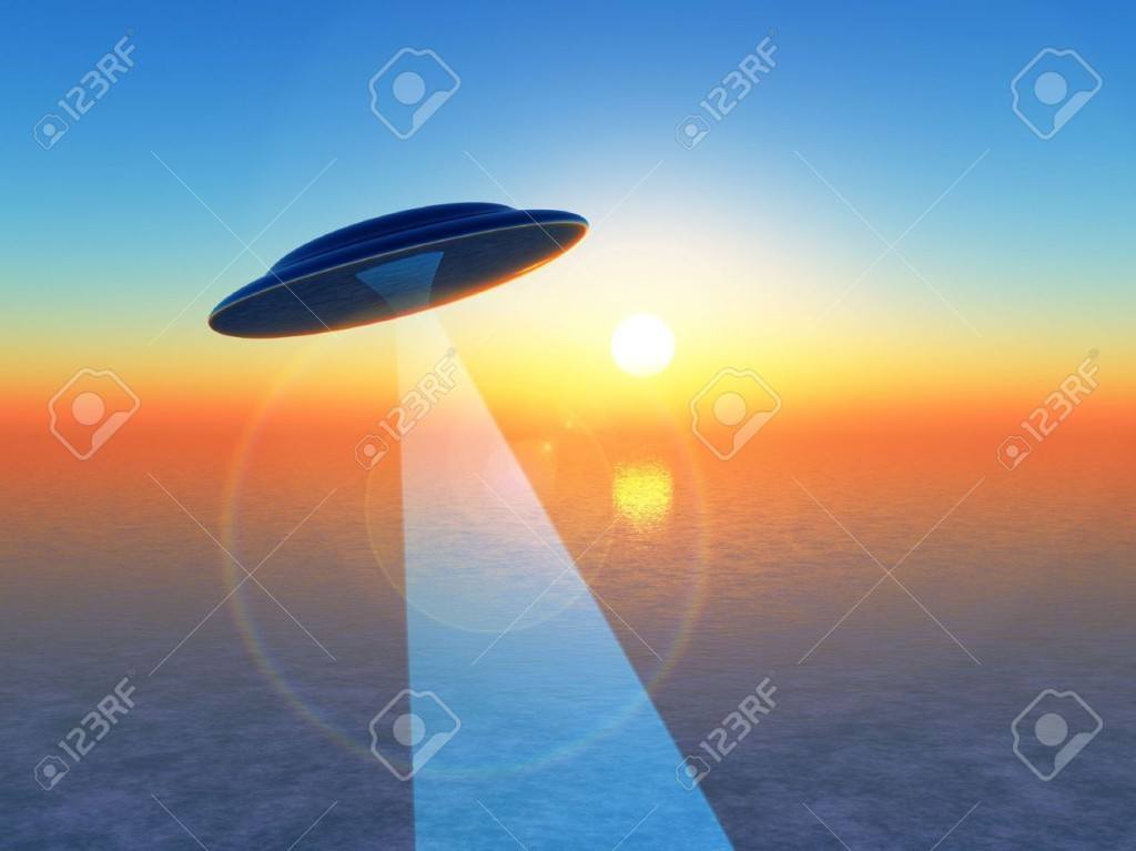6575300-A-UFO-hovering-over-the-sea--Stock-Photo