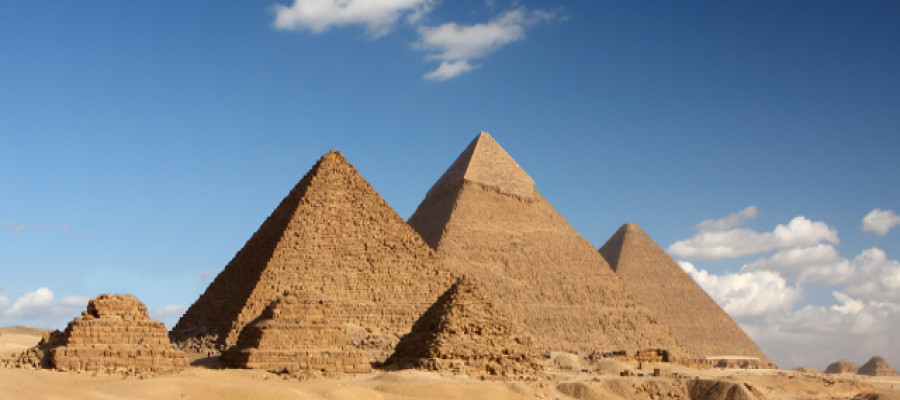 What are the Great Pyramids really made of?