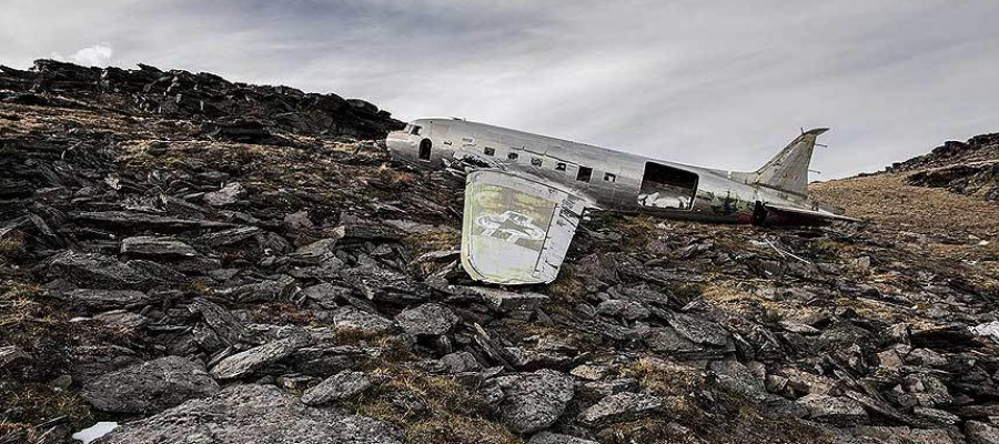 aeroplane crashes where everyone survived