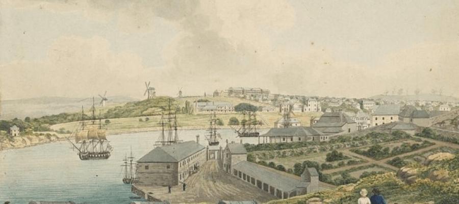 Crime: Bank Of Australia Robbery 1828