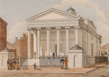Crime: America's first bank robbery
