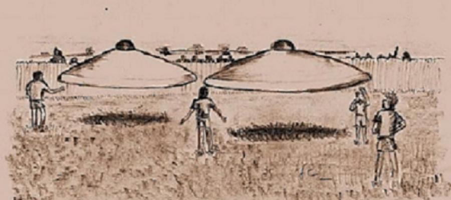 The Ariel UFO Event – Zimbabwe