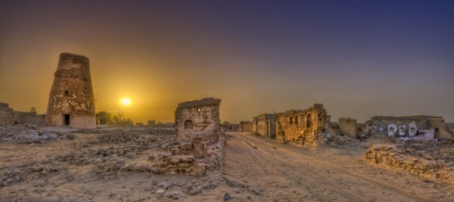 The haunted and abandoned town of Al Jazirah Al Hamra