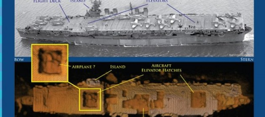 Intact' WWII Carrier Found in Pacific