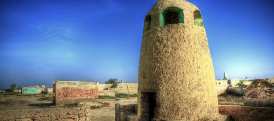 The haunted and abandoned town of Al Jazirah Al Hamra