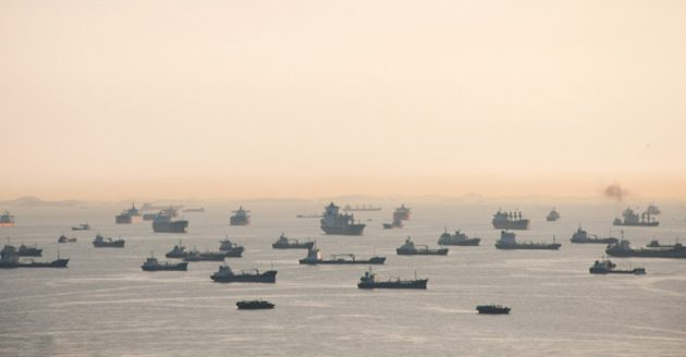 Ghost Ships – The biggest and most secretive gathering of ships in maritime history