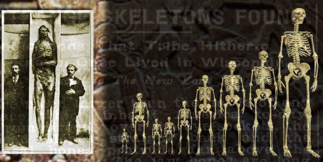 5 facts that suggest Giants existed in the past!