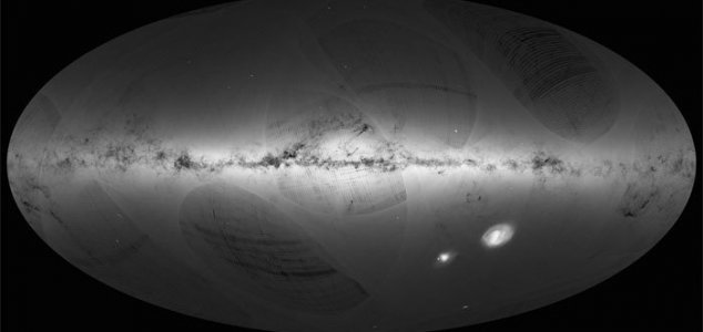 ESA reveals most detailed Milky Way map ever
