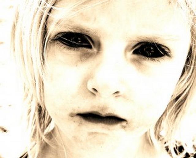 The strange legend of the black eyed kids