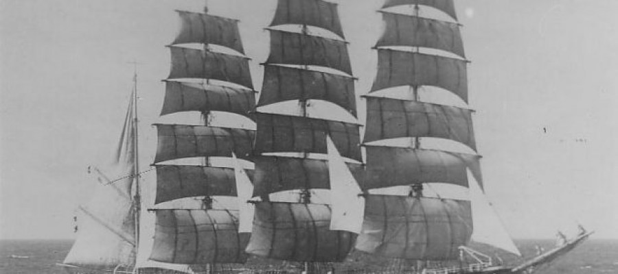 The strange story of the Pamir, the ghost ship