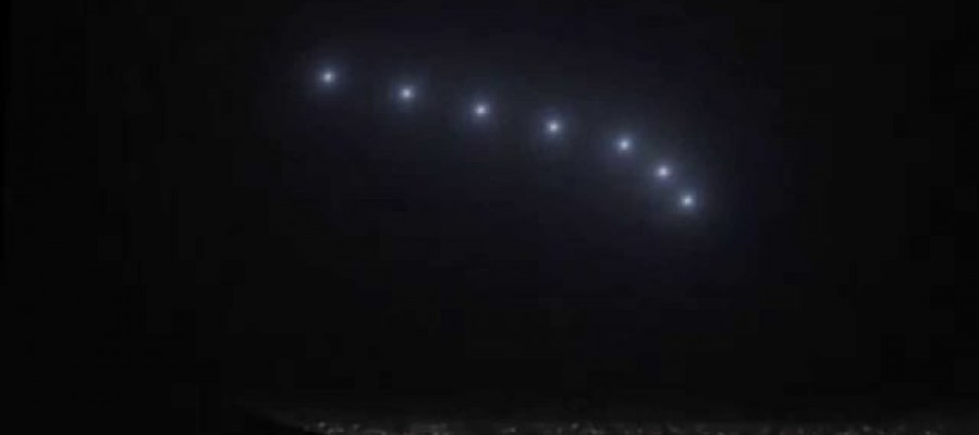 What was the Phoenix lights UFO sighting?