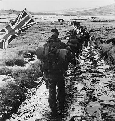 British objectives ... theories surround the Falklands War
