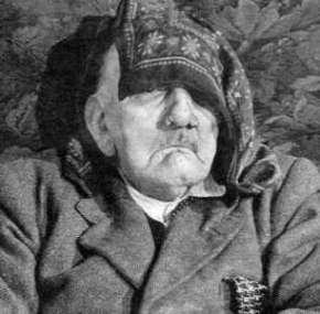 hitler as old man