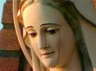 The Virgin Mary Crying Blood