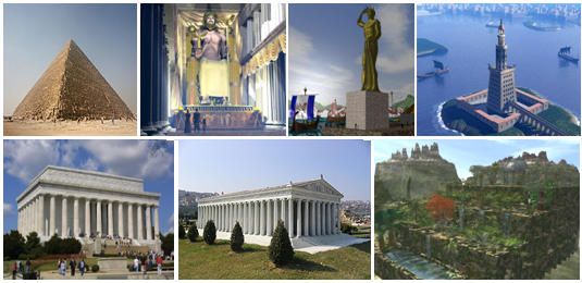 Seven-wonders-of-the-ancient-world