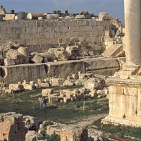 Baalbek Megalith Stone Foundations Ancient Mystery 200x200 Baalbek